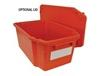 STACK AND NEST CONTAINER LIDS