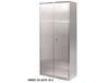 STAINLESS FLUSH DOOR STORAGE CABINETS - SHELF