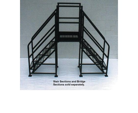 FIXED CROSSOVERS - STAIR SECTIONS (SET OF 2) - 48° SLOPE