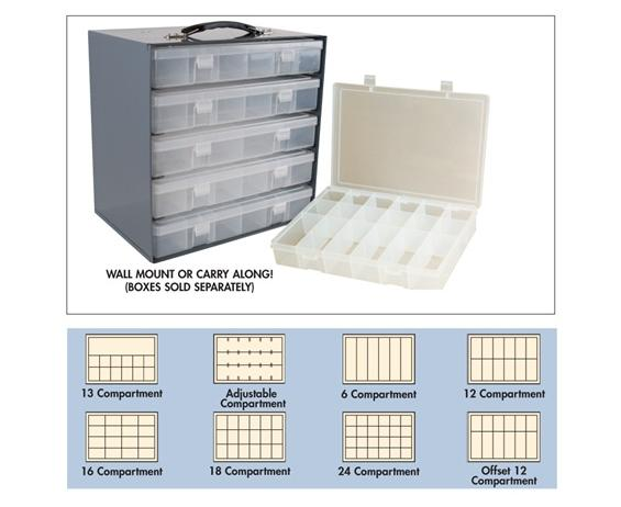 PLASTIC BOXES FOR STEEL BOX RACKS