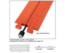 GENERAL PURPOSE 1 CHANNEL CABLE/HOSE PROTECTOR