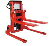 MINI MANUAL LIFT/MANUAL PUSH STRADDLE STACKER